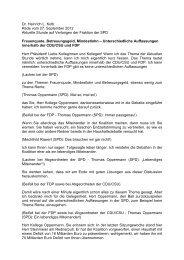 Dr. Heinrich L. Kolb Rede vom 27. September 2012 Aktuelle Stunde ...