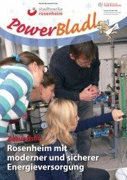 POWERbladl 23 - Stadtwerke Rosenheim
