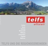 Telfs und die Regionsgemeinden - Marktgemeinde Telfs