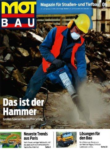 Mot Bau Mai edition (German) - Keestrack