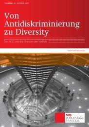 Von Antidiskriminierung zu Diversity - Thomas Oppermann, MdB