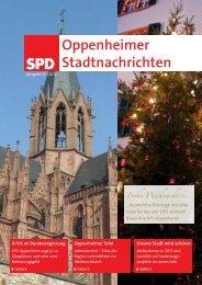 Ausgabe von 12/2012 - SPD-Oppenheim - Marcus Held