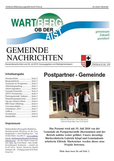 Wartberg ob der aist dating portal - Viktring singlebrsen - Neu leute