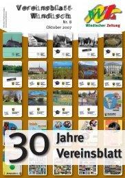 30Jahre Vereinsblatt - Windischer-Zeitung