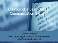 Creation of a Basic Online Communication System.pdf