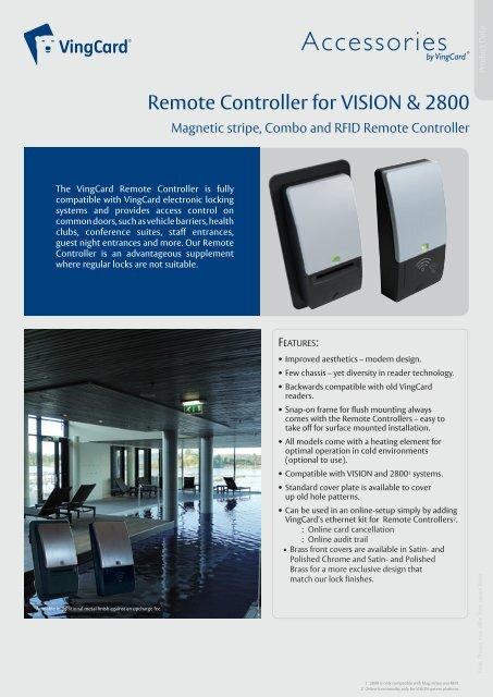 VISION-2800 Remote Controller_English_Dec10     - VingCard