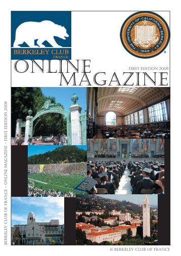 online magazine - cal: great minds online - University of California ...
