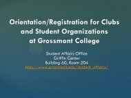 WELCOME TO THE ONLINE CLUB REGISTRATION SESSION