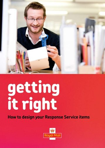 Getting It Right - Royal Mail