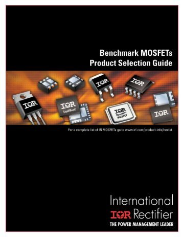Benchmark MOSFETs Product Selection Guide - International Rectifier