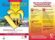 HEART FAILURE HEART FAILURE - European Society of Cardiology