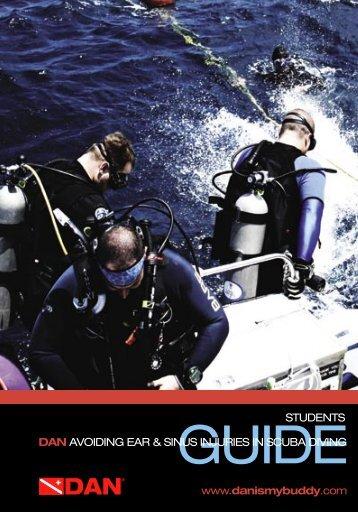 dan avoiding ear & sinus injuries in scuba - Divers Alert Network