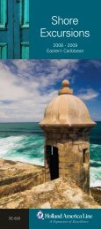Shore Excursions - InSight Cruises