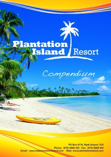 Plantation Island Resort Map - Private Islands Online