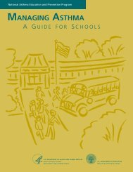 Managing Asthma: A Guide for School - National Heart, Lung, and ...
