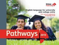English language for university and college entry - Embassy CES