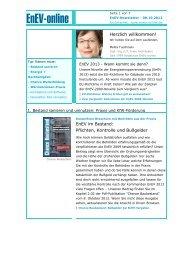 EnEV-Newsletter - Service - EnEV-online
