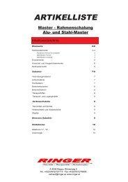 Artikeliste Master 2012.pmd