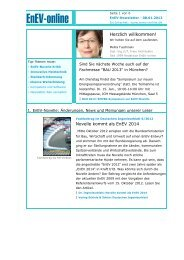 Download Newsletter (pdf) - Service - EnEV-online