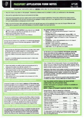 department of foreign affairs application form for passport