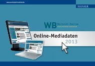 Online-Mediadaten 2013 - Werkstatt + Betrieb