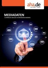 Unsere kompletten Mediadaten zum Herunterladen - Aha.de