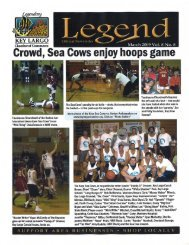 March 2009 Legend - Key Largo Chamber of Commerce