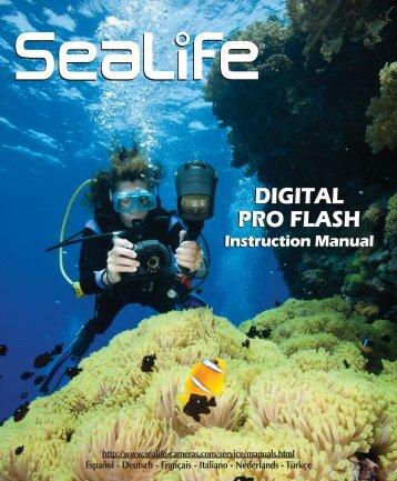 120286 Digital Flash Pro Manual - Sealife Cameras