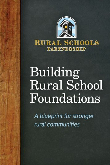 Building Rural School Foundations - Community Foundation of the ...