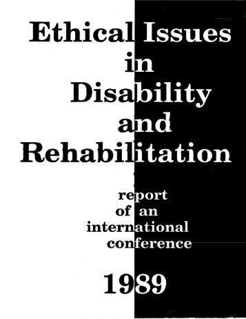 Untitled - National Clearinghouse of Rehabilitation Training Materials