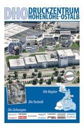 DHO Eröffnungs-Beilage - Schwäbische Post