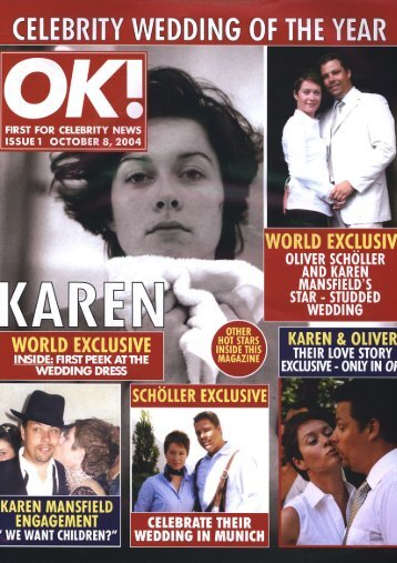 OK Magazin Karen and Oliver