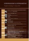 ENTREPRENEURSHIP & UNTERNEHMERTUM - Alpensymposium - Seite 6