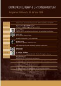 ENTREPRENEURSHIP & UNTERNEHMERTUM - Alpensymposium - Seite 7