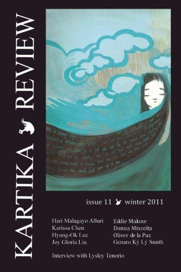 The Inaugural Year Anthology of - Kartika Review