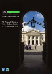 Conference Programme - Trinity College Dublin