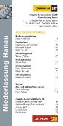 telefonliste_hanau.pdf [122 KB] - Zeppelin Baumaschinen GmbH