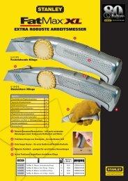 EXTRA ROBUSTE ARBEITSMESSER - Reiter Werkzeuge