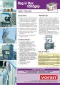 Bag in Box töltőgép - voran Maschinen GmbH - Page 2