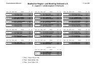 Badischer Kegler- und Bowling Verband e.V. - WKBV