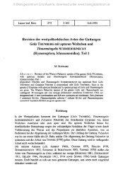 Revision der westpaläarktischen Arten der Gattungen Gelis ...