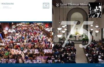 Fall 2012 - Saint Thomas More - Yale University