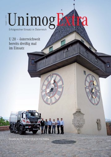 Unimog Extra Ausgabe 1 / 2012 - Pappas Gruppe