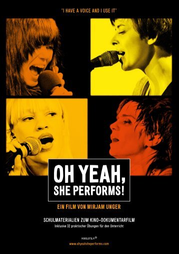 Download - Oh Yeah, She Performs!