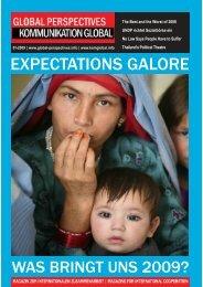 GLOBAL PERSPECTIVES   KOMMUNIKATION GLOBAL - 01   2009