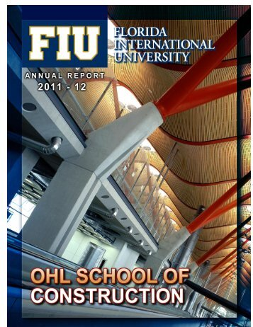 Annual Report 2011-2012 - OHL School of Construction - Florida ...