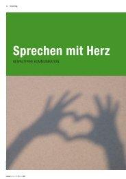 Sprechen mit Herz - Höcker Networks