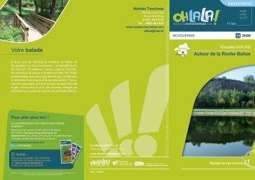 Autour de la Roche Ballue - Vacances en Loire-Atlantique