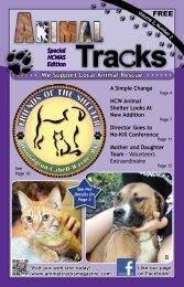We Support Local Animal Rescue - Animal Tracks Magazine