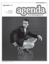 www.kulturagenda.ch September | 11